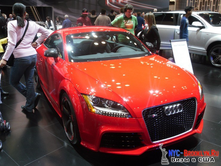 54. Автошоу в Нью-Йорке 2012. New York Auto Show - NYC-Brooklyn