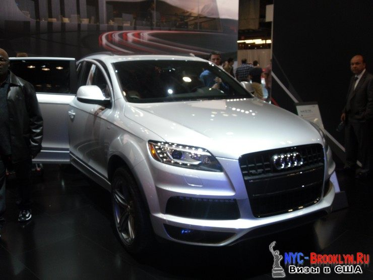 55. Автошоу в Нью-Йорке 2012. New York Auto Show - NYC-Brooklyn