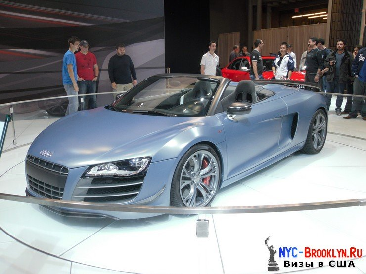 56. Автошоу в Нью-Йорке 2012. New York Auto Show - NYC-Brooklyn