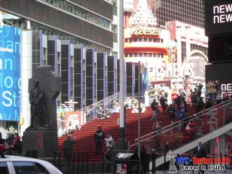 56. Фотоотчет Площадь Таймс Сквер в Нью-Йорке. Times Square New York - NYC-Brooklyn