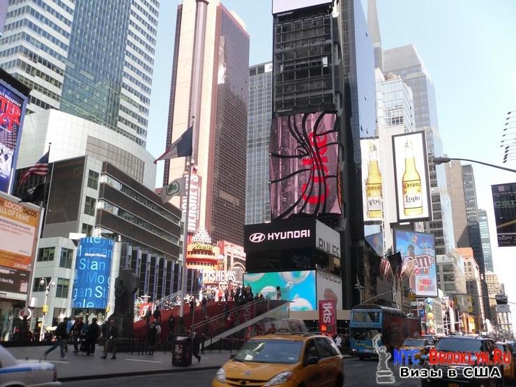 57. Фотоотчет Площадь Таймс Сквер в Нью-Йорке. Times Square New York - NYC-Brooklyn