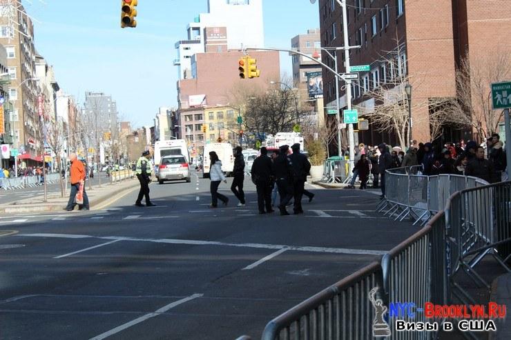 6. Парад в Нью-Йорке восточного Нового Года 2013 в Чайна Тауне - NYC-Brooklyn