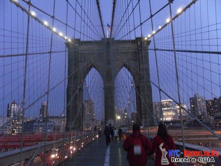 60. Фотоотчет Бруклинский Мост в Нью-Йорке. Brooklyn Bridge New York - NYC-Brooklyn
