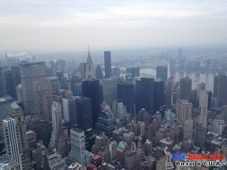61. Фотоотчет Эмпайр Стейт Билдинг, Нью-Йорк, Empire State Building, New York - NYC-Brooklyn