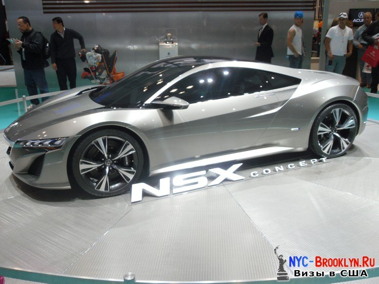 62. Автошоу в Нью-Йорке 2012. New York Auto Show - NYC-Brooklyn