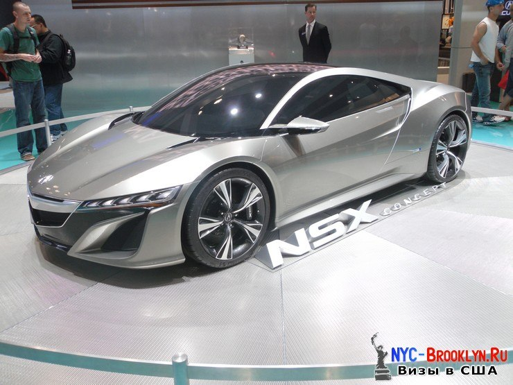 63. Автошоу в Нью-Йорке 2012. New York Auto Show - NYC-Brooklyn