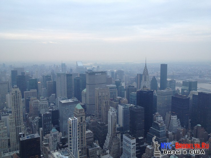 63. Фотоотчет Эмпайр Стейт Билдинг, Нью-Йорк, Empire State Building, New York - NYC-Brooklyn