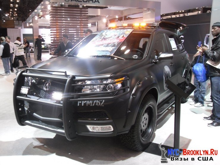 65. Автошоу в Нью-Йорке 2012. New York Auto Show - NYC-Brooklyn
