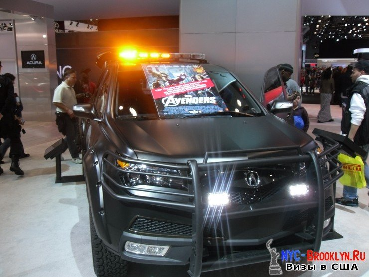66. Автошоу в Нью-Йорке 2012. New York Auto Show - NYC-Brooklyn