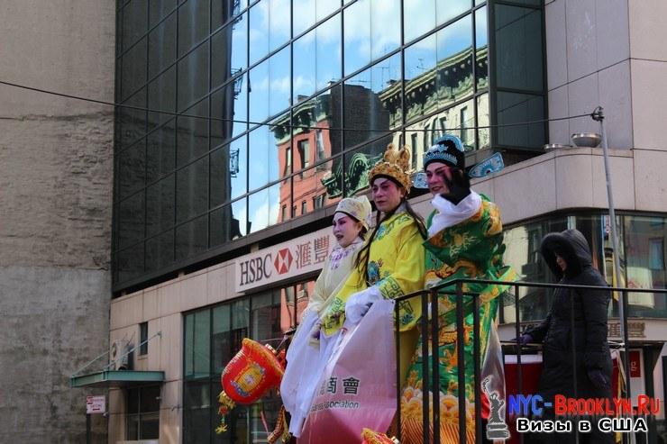 67. Парад в Нью-Йорке восточного Нового Года 2013 в Чайна Тауне - NYC-Brooklyn