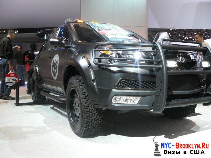 68. Автошоу в Нью-Йорке 2012. New York Auto Show - NYC-Brooklyn
