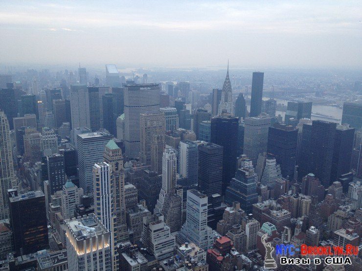 68. Фотоотчет Эмпайр Стейт Билдинг, Нью-Йорк, Empire State Building, New York - NYC-Brooklyn
