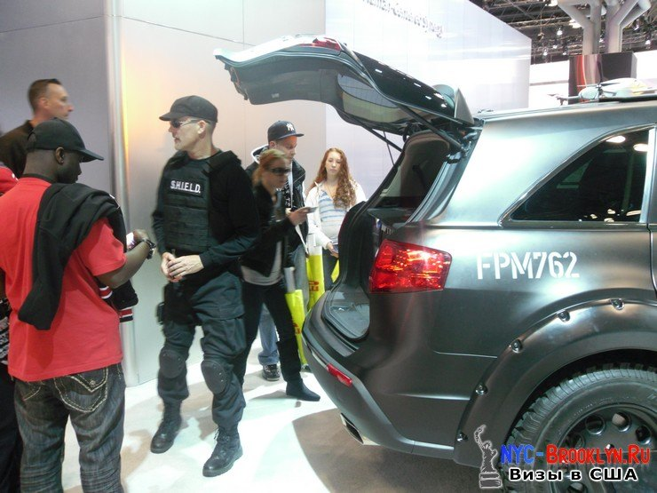 69. Автошоу в Нью-Йорке 2012. New York Auto Show - NYC-Brooklyn