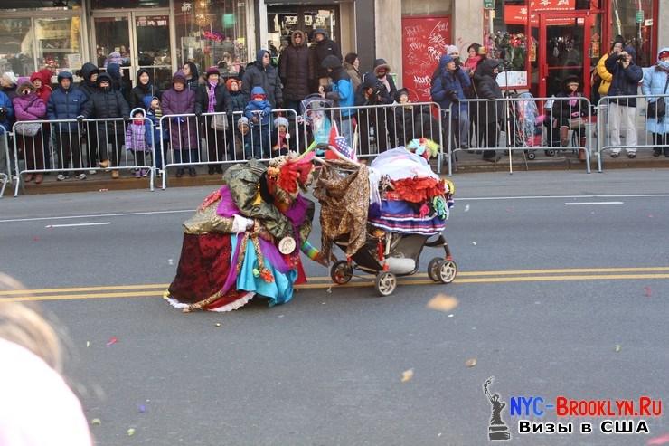 7. Парад в Нью-Йорке восточного Нового Года 2013 в Чайна Тауне - NYC-Brooklyn