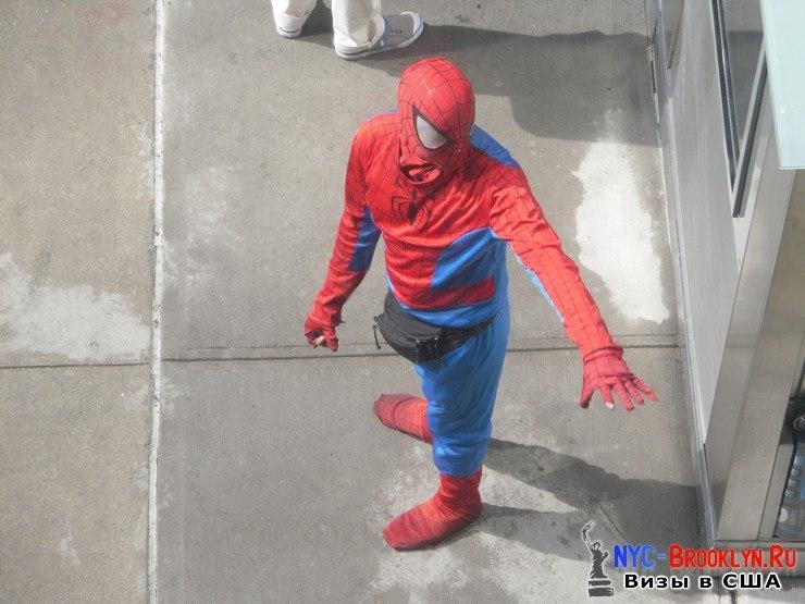 7. Человек-Паук в Нью-Йорке. Spider-Man New York - NYC-Brooklyn