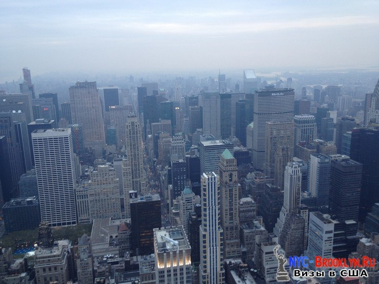 70. Фотоотчет Эмпайр Стейт Билдинг, Нью-Йорк, Empire State Building, New York - NYC-Brooklyn