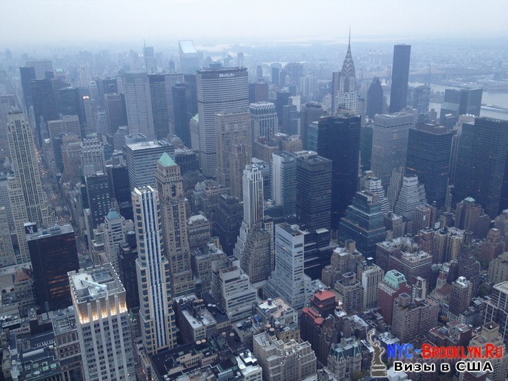 71. Фотоотчет Эмпайр Стейт Билдинг, Нью-Йорк, Empire State Building, New York - NYC-Brooklyn