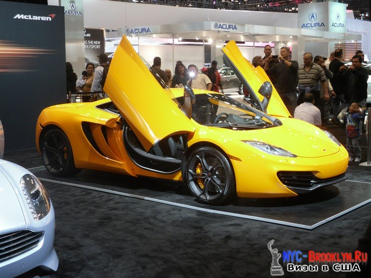 73. Автошоу в Нью-Йорке 2012. New York Auto Show - NYC-Brooklyn