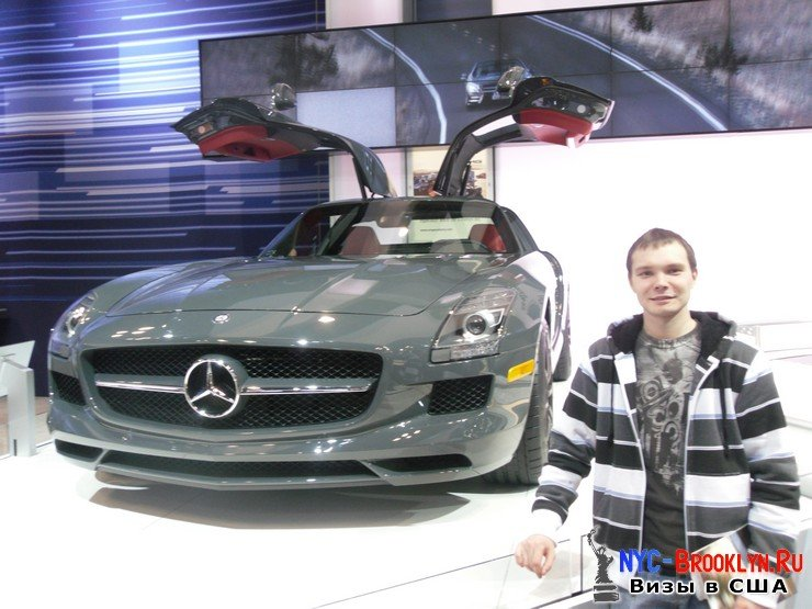77. Автошоу в Нью-Йорке 2012. New York Auto Show - NYC-Brooklyn