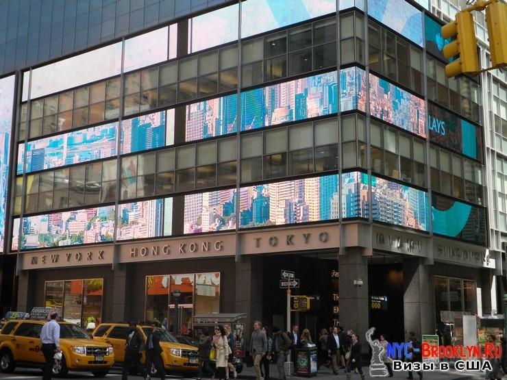 77. Фотоотчет Площадь Таймс Сквер в Нью-Йорке. Times Square New York - NYC-Brooklyn
