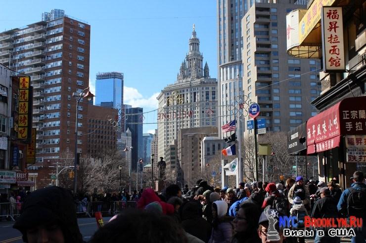 8. Парад в Нью-Йорке восточного Нового Года 2013 в Чайна Тауне - NYC-Brooklyn