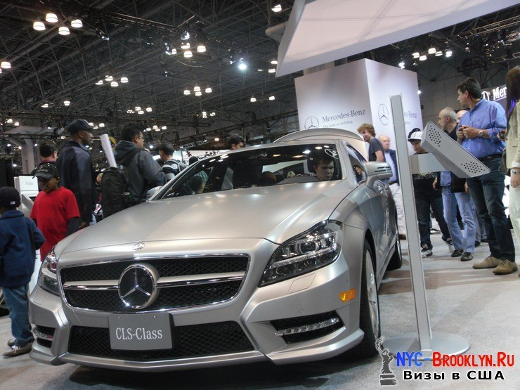 80. Автошоу в Нью-Йорке 2012. New York Auto Show - NYC-Brooklyn
