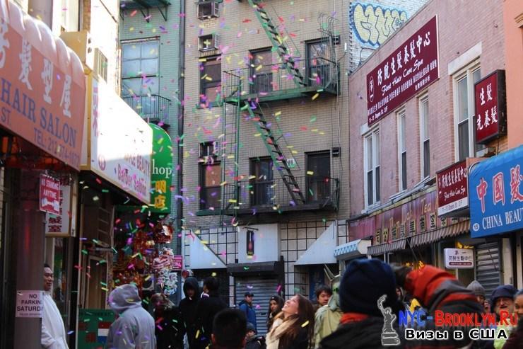 84. Парад в Нью-Йорке восточного Нового Года 2013 в Чайна Тауне - NYC-Brooklyn
