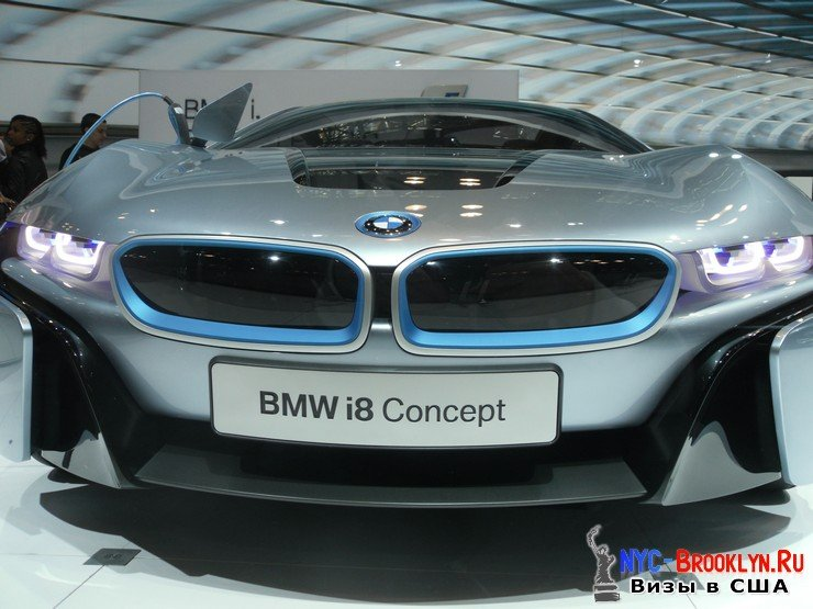87. Автошоу в Нью-Йорке 2012. New York Auto Show - NYC-Brooklyn