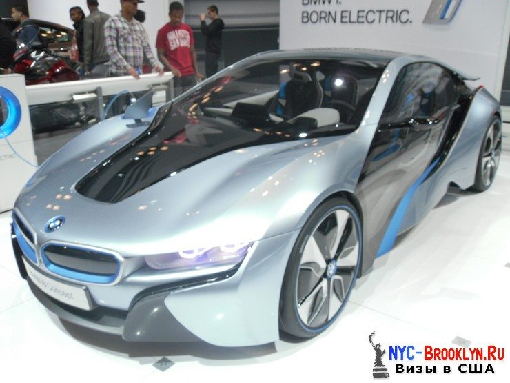 89. Автошоу в Нью-Йорке 2012. New York Auto Show - NYC-Brooklyn