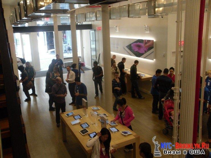 9. Магазин Apple Store в Нью-Йорке, в SoHo - NYC-Brooklyn