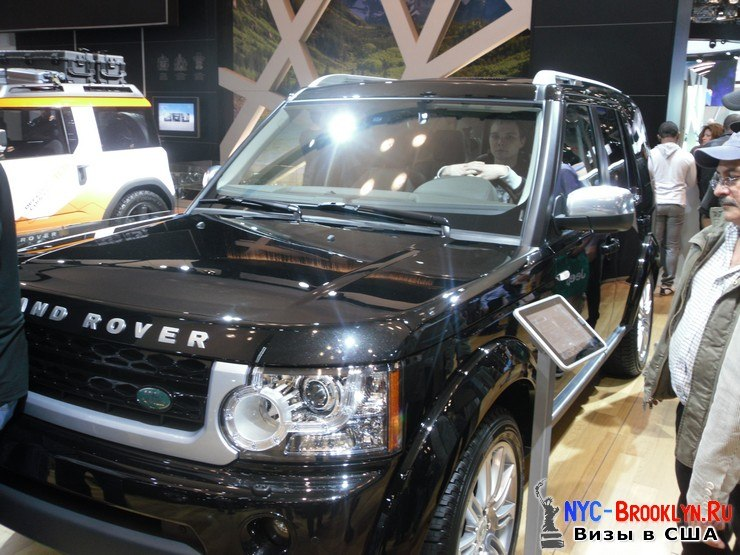 98. Автошоу в Нью-Йорке 2012. New York Auto Show - NYC-Brooklyn