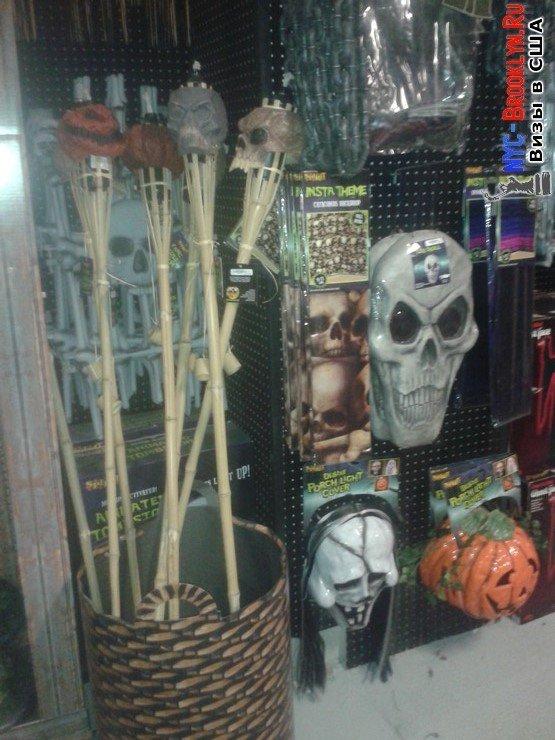 фотографии, Нью-Йорк, New York, фото, продают, что продают, магазинах, в магазинах, магазин, США, Хэллоуин