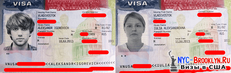 1. История получения туристической визы в США B2 Александра и Юлии из Хабаровского края - NYC-Brooklyn