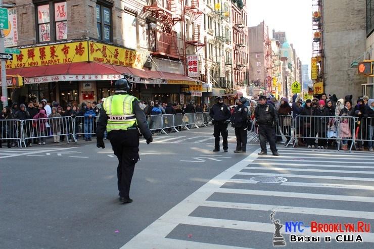 10. Парад в Нью-Йорке восточного Нового Года 2013 в Чайна Тауне - NYC-Brooklyn