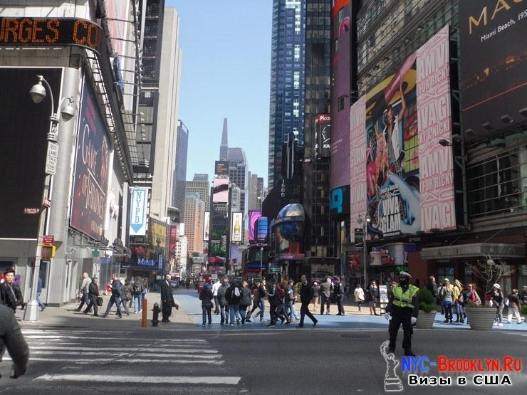 11. Фотоотчет Площадь Таймс Сквер в Нью-Йорке. Times Square New York - NYC-Brooklyn