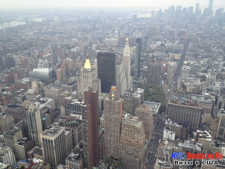 11. Фотоотчет Эмпайр Стейт Билдинг, Нью-Йорк, Empire State Building, New York - NYC-Brooklyn