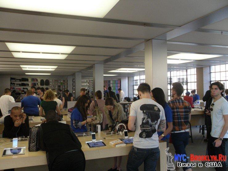 13. Магазин Apple Store в Нью-Йорке, на West 14th Street - NYC-Brooklyn