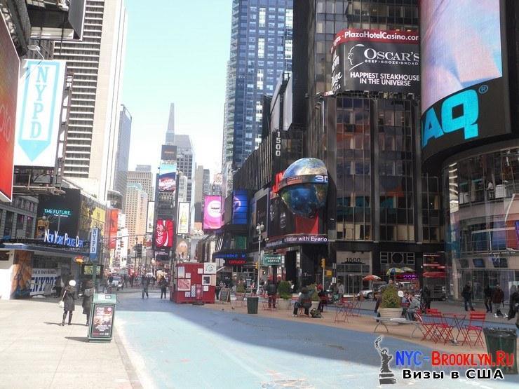 14. Фотоотчет Площадь Таймс Сквер в Нью-Йорке. Times Square New York - NYC-Brooklyn
