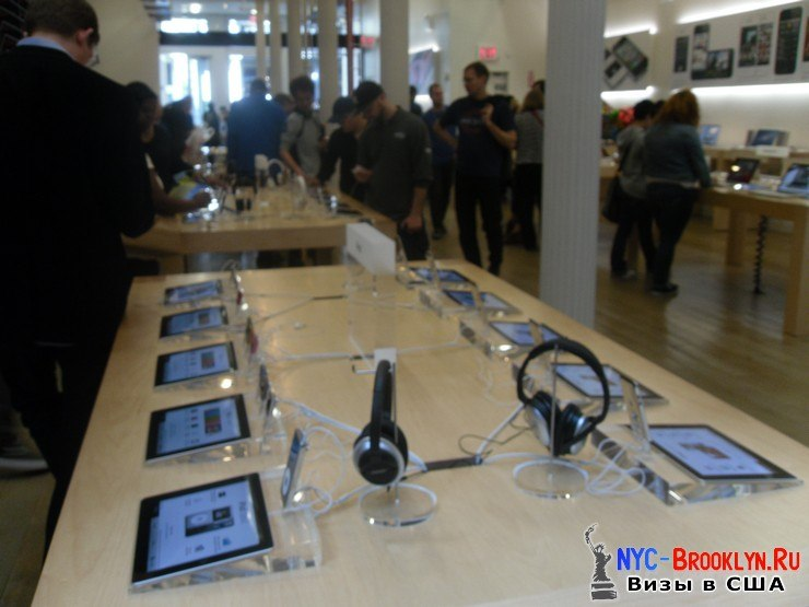 18. Магазин Apple Store в Нью-Йорке, в SoHo - NYC-Brooklyn