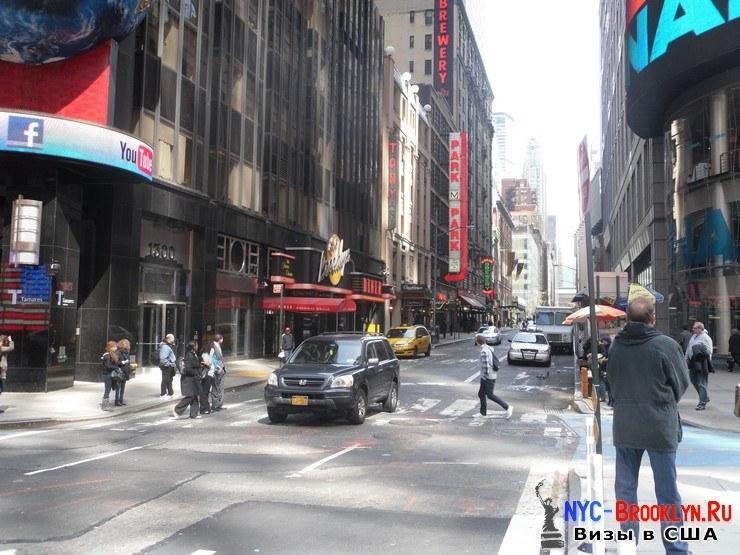 19. Фотоотчет Площадь Таймс Сквер в Нью-Йорке. Times Square New York - NYC-Brooklyn
