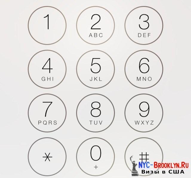 2. Буквенная раскладка номера телефона - NYC-Brooklyn