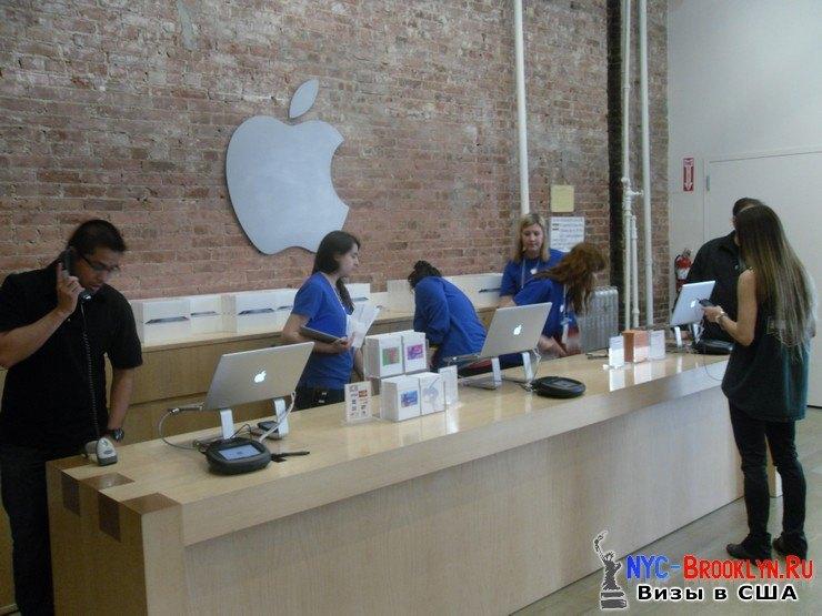 2. Магазин Apple Store в Нью-Йорке, в SoHo - NYC-Brooklyn