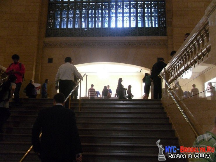 20. Магазин Apple Store в Нью-Йорке Grand Central - NYC-Brooklyn