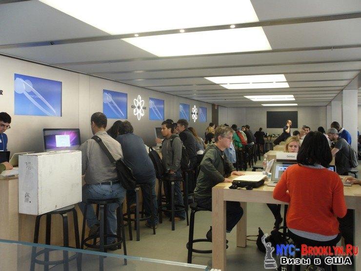 21. Магазин Apple Store в Нью-Йорке, на West 14th Street - NYC-Brooklyn