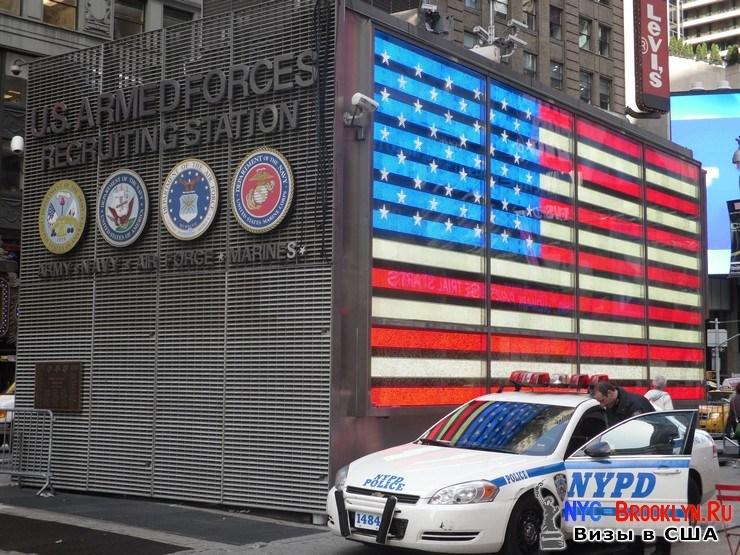 22. Фотоотчет Площадь Таймс Сквер в Нью-Йорке. Times Square New York - NYC-Brooklyn