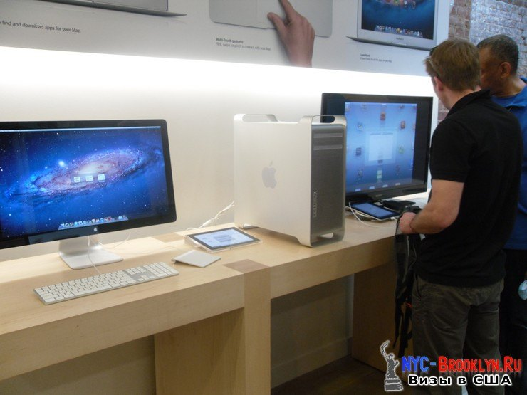 23. Магазин Apple Store в Нью-Йорке, в SoHo - NYC-Brooklyn