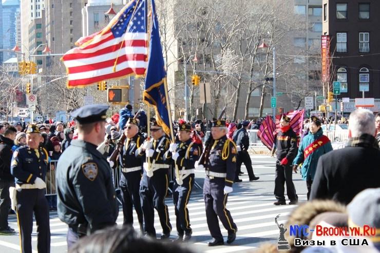 23. Парад в Нью-Йорке восточного Нового Года 2013 в Чайна Тауне - NYC-Brooklyn