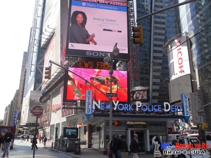 23. Фотоотчет Площадь Таймс Сквер в Нью-Йорке. Times Square New York - NYC-Brooklyn