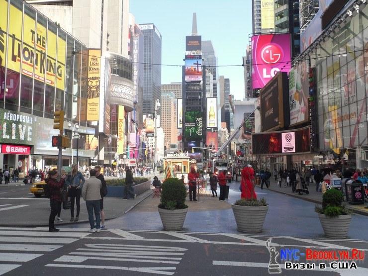 25. Фотоотчет Площадь Таймс Сквер в Нью-Йорке. Times Square New York - NYC-Brooklyn