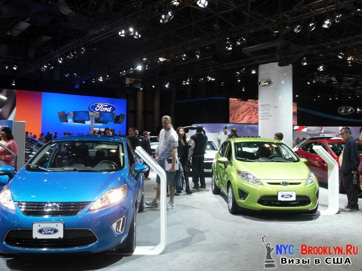 27. Автошоу в Нью-Йорке 2012. New York Auto Show - NYC-Brooklyn